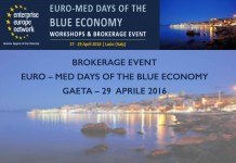 EURO – MED DAYS OF THE BLUE ECONOMY